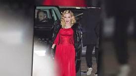 Madonna à nouveau sur pied à la Semaine de la Mode à Milan