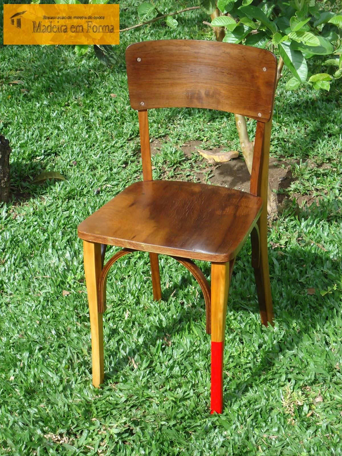 Restauração de Móveis de Época : Cadeira Cimo 1001 #AF761C 1200x1600