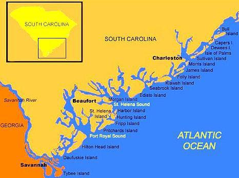 Islands Off The South Carolina Coast