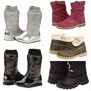 ghete si cizme de iarna pentru copii