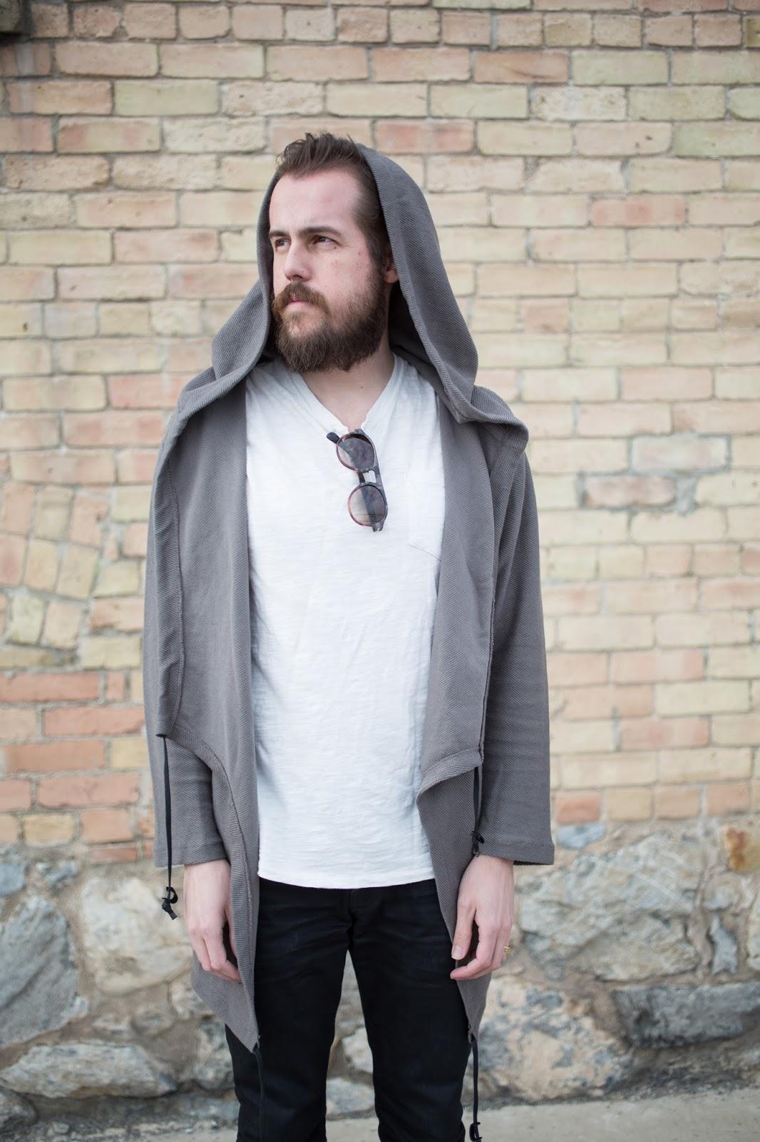 Zara Hooded Menswear Jacket
