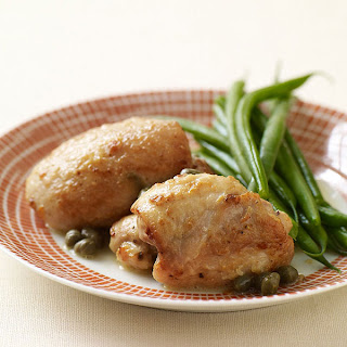 Sauteed Chicken Thighs with Lemon and Capers