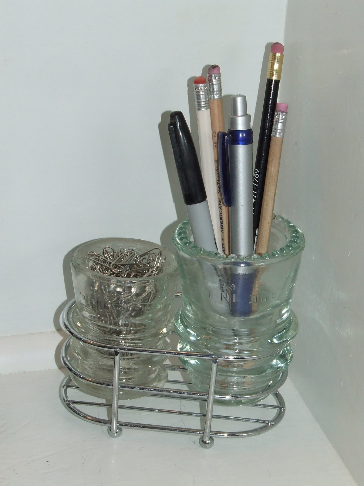 somethin 39 salvaged desk organizers and other uses for