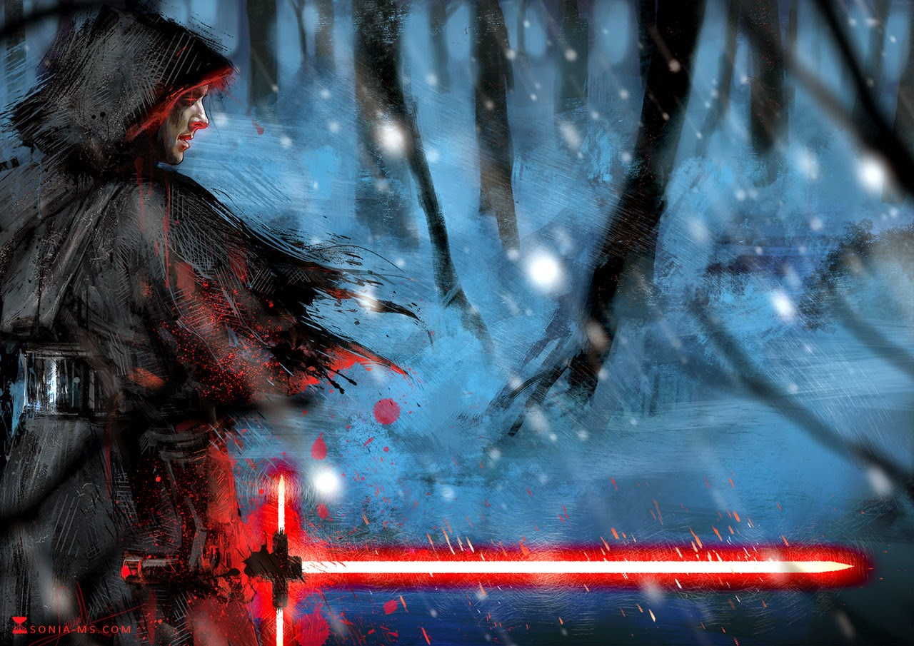 Star Wars The Force Awakens fan art