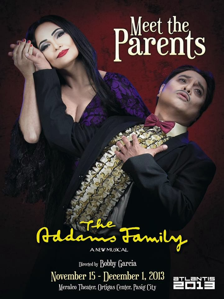 just mean the addams family by atlantis productions