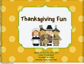 http://www.teacherspayteachers.com/Product/Thanksgiving-Day-Fun-402999