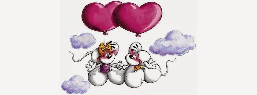 Couverture facebook HD deux amour