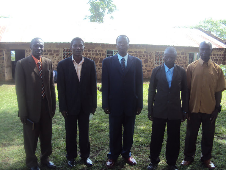 Moses and part of thr team Marriage Restoration Network Uganda