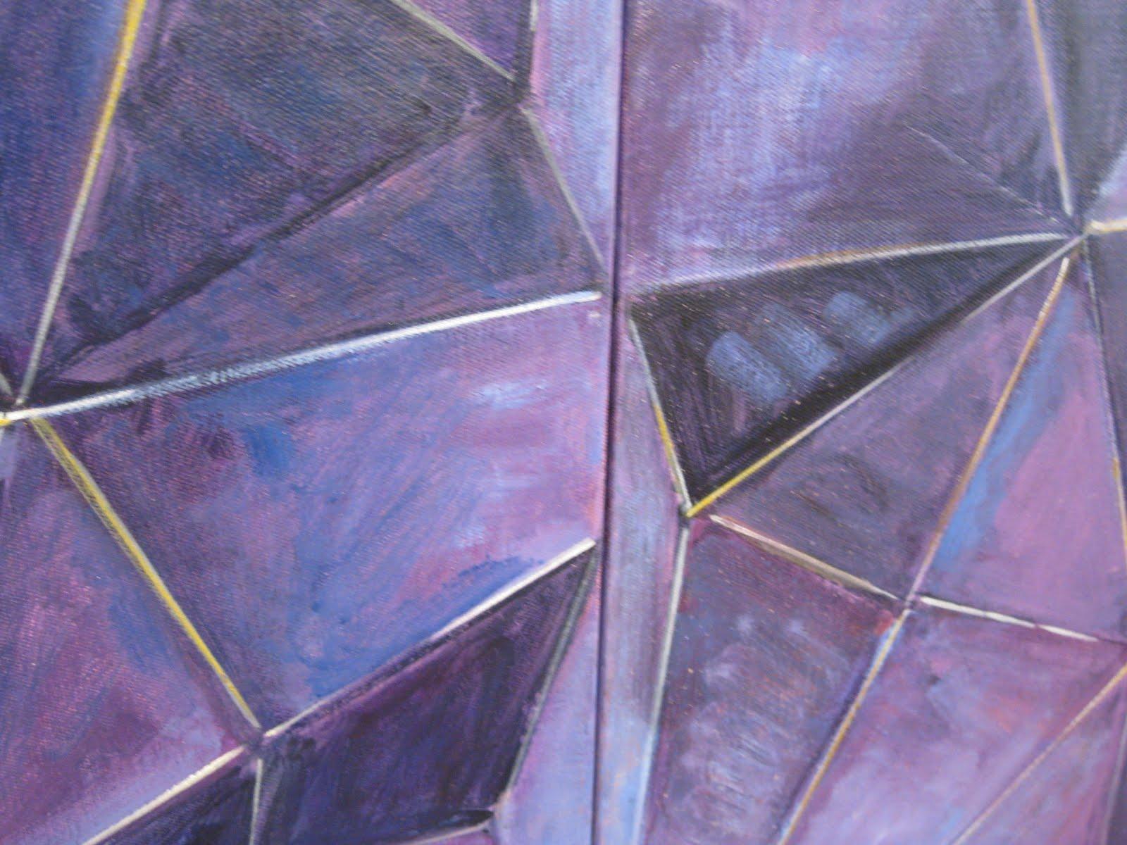 Purple 3d design wallpaper purple background wallpapers for Purple wallpaper 3d