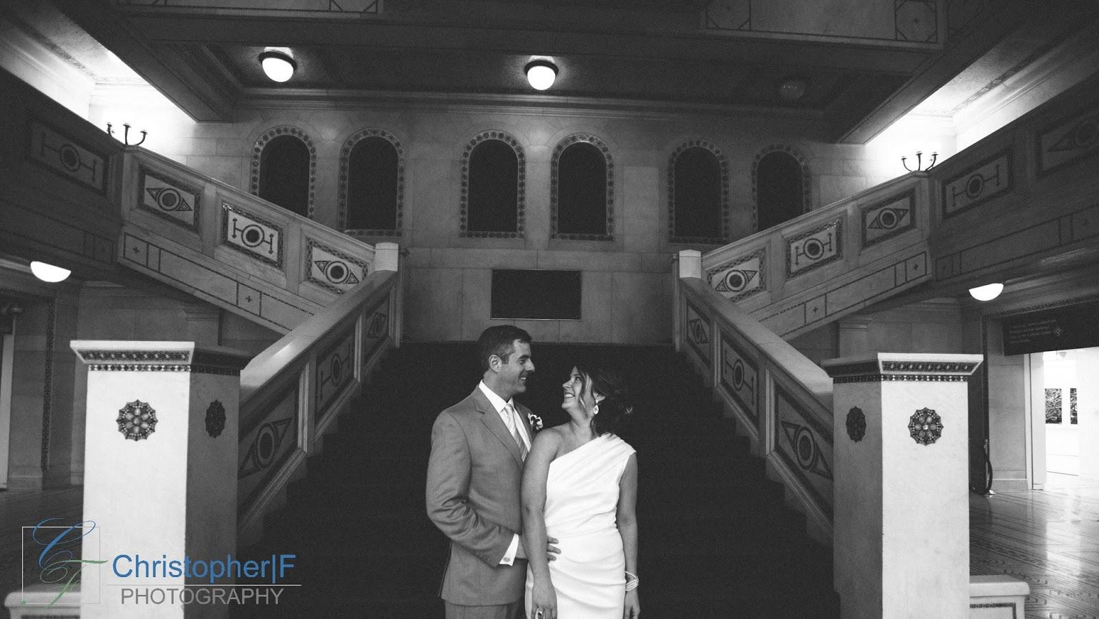 Chicago Cultural Center Wedding Photo