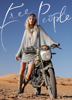 Free People vestido lookbook