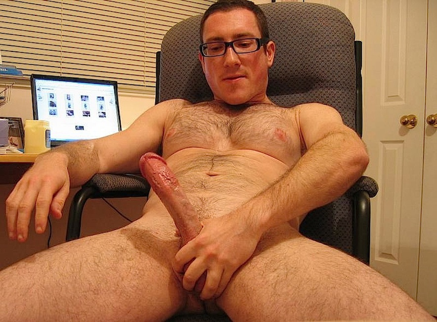 men with glasses Nude