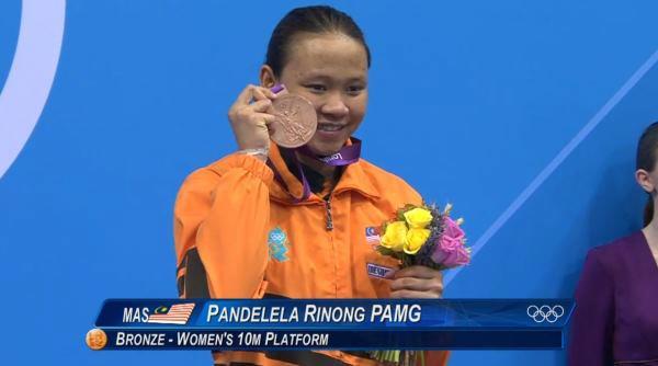 pingat gangsa di olimpik 2012