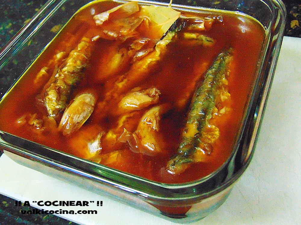 Sardinas o boquerones en escabeche suave a cocinear - Boquerones en vinagre duros ...