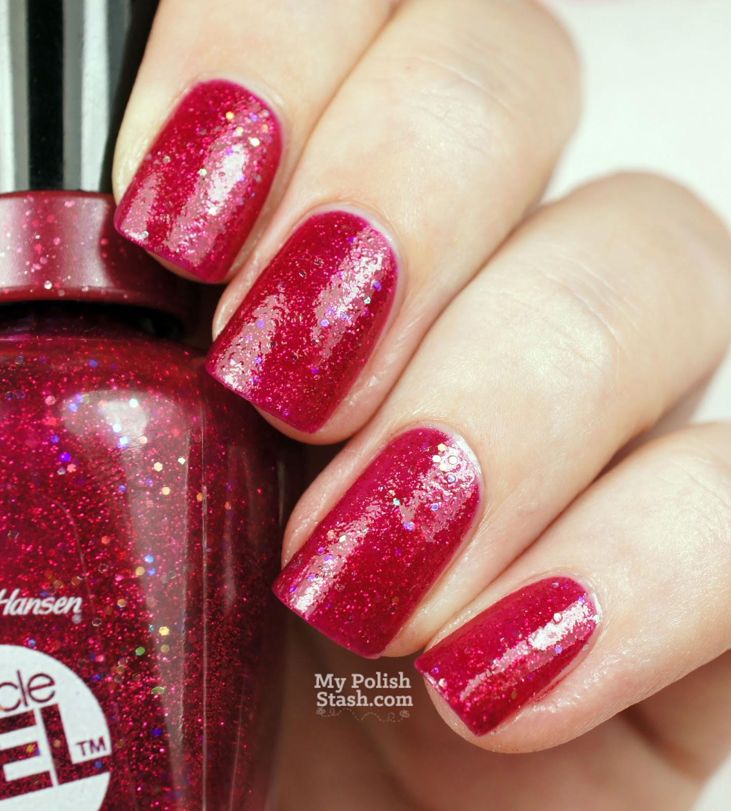 christmas nail polish