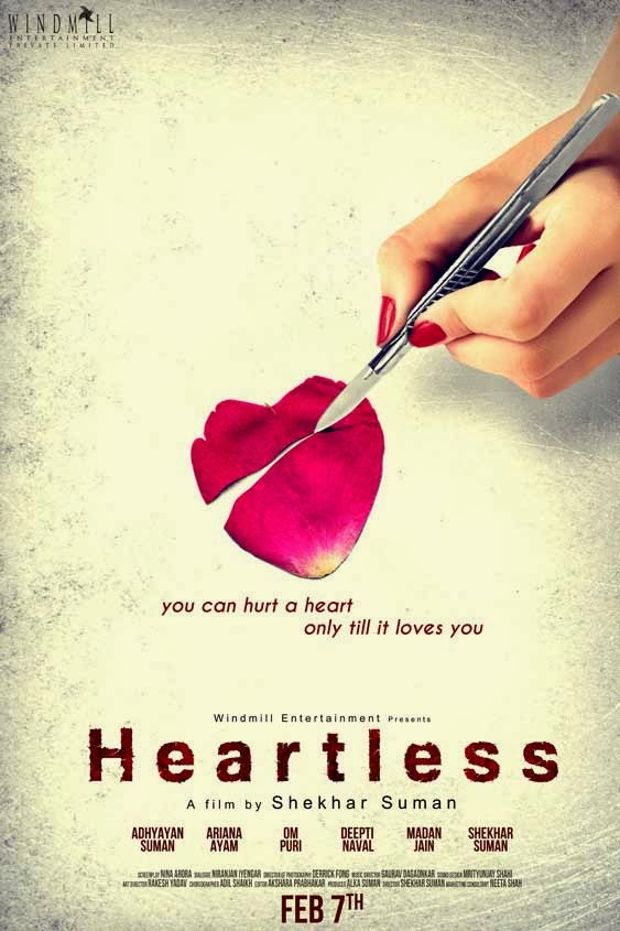 Heartless First Look Poster - Adhyayan Suman, Shekhar Suman