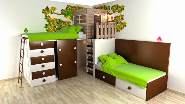 Desain Kamar Tidur Unik untuk Anak