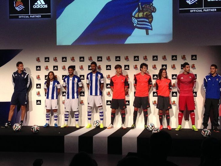 Adidas Real Sociedad 14-15 Kits Released