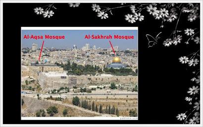 MASJIDIL AQSA & KUBAH AS SAKHRAH