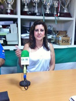 La ventrílocua Isabel Camiña en Atlético Sanluqueño Radio