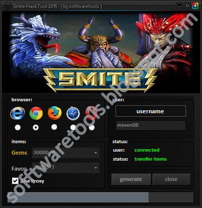 Smite Hack Gems 2015  No Surveys  Free Download ! ~ sofftwaretools
