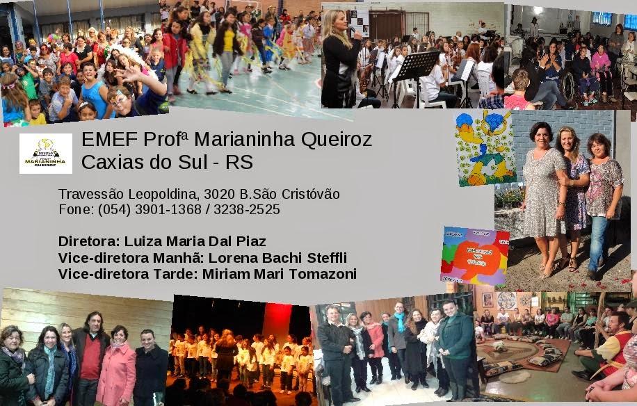 ESCOLA MUNICIPAL DE E.F PROFª. MARIANINHA QUEIROZ