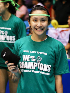 Liss Gohing is a five-time Champion libero with DLSU in the UAAP