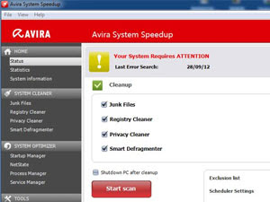 Avira System Speedup 1.2.1.8100 Free Download