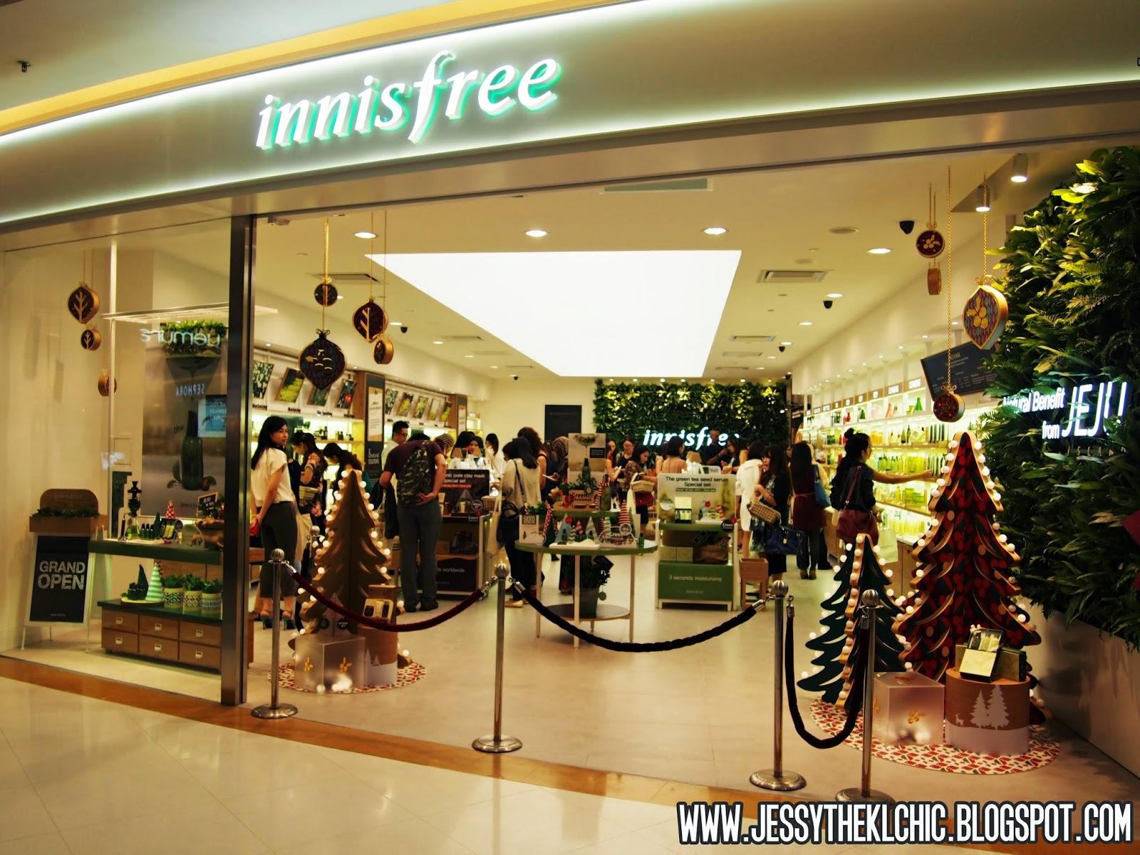 Beauty: Innisfree First Malaysian Store (Sunway Pyramid Mall ...