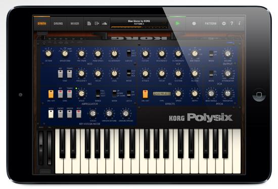 Korg iPolysix for iPad - Легенды уходят в матрицу | Андрей Климковский