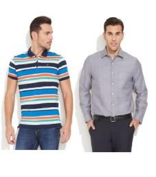 Buy Wills Lifestyle & John Players clothings Minimum 50% off + 10% Cashback  :Buytoearn