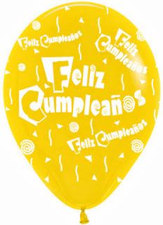 Feliz Cumpleaños con Globos, parte 1