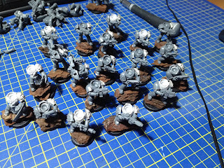 Betrayal at Calth Veteran Tactical Squads wip