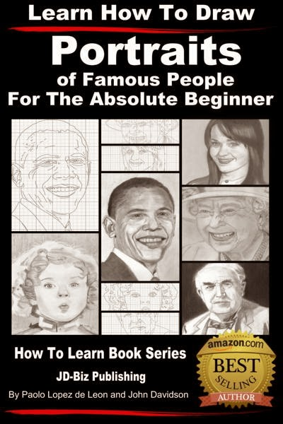 Learn How to Draw Portraits of Famous People