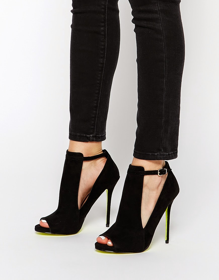 carvela shoe boots, carvela black cutout shoes,