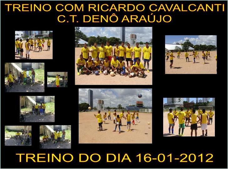 Treino com Ricardo Cavalcanti do dia 16 de Janeiro de 2012