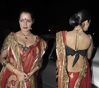 Celina Jaitley in Saree Spicy Pics