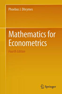 Mathematics for Econometrics - Free Ebook Download