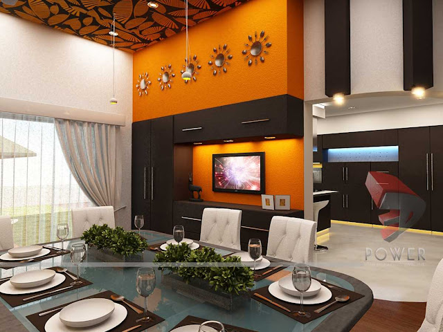 3d architectural interior view,3d architecture rendering