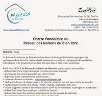 Cliquez ici pour découvrir la Charte Fondatrice des Maisons du Bien-être