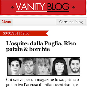 Leggete i nostri articoli sul blog di Vanity Fair