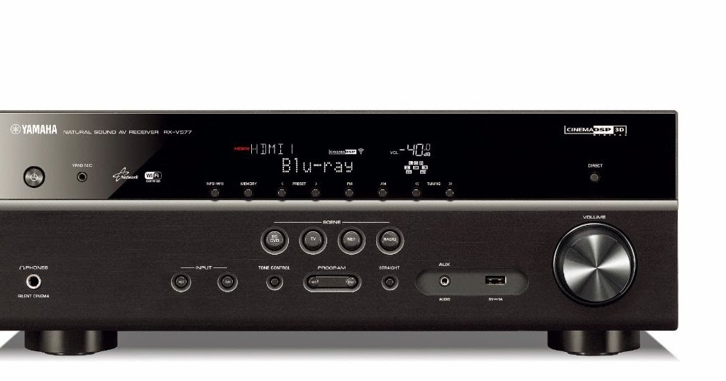 How To Connect Yamaha Rx V  To Network