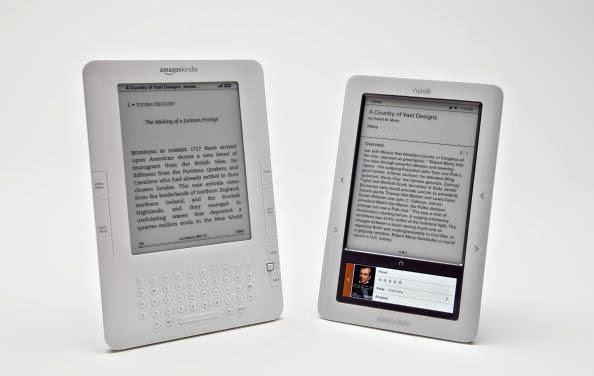 أفضل أجهزة القراءة الإلكترونية لعام 2014