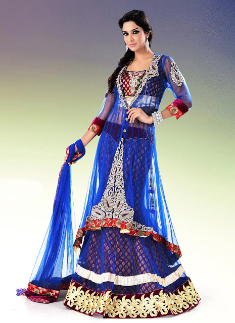 ghagra choli designs for teenagers
