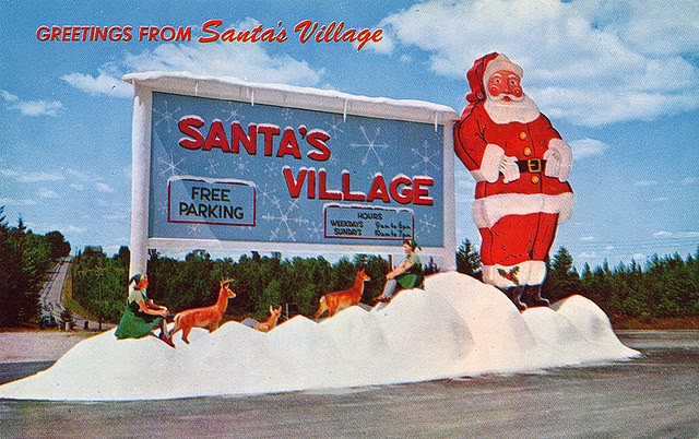 Santas Village NH