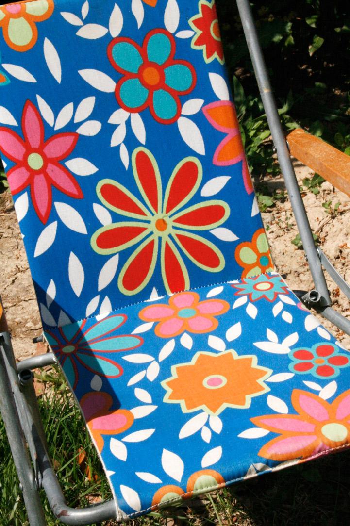 La Puce Au Grenier Decoration Vintage Chaise Pliante Pour Enfant