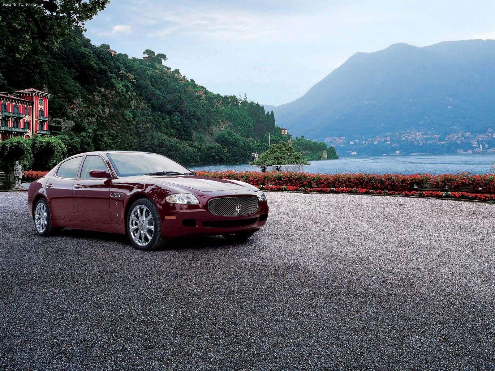 Hình ảnh siêu xe Maserati Quattroporte Neiman Marcus 2004 & nội ngoại thất