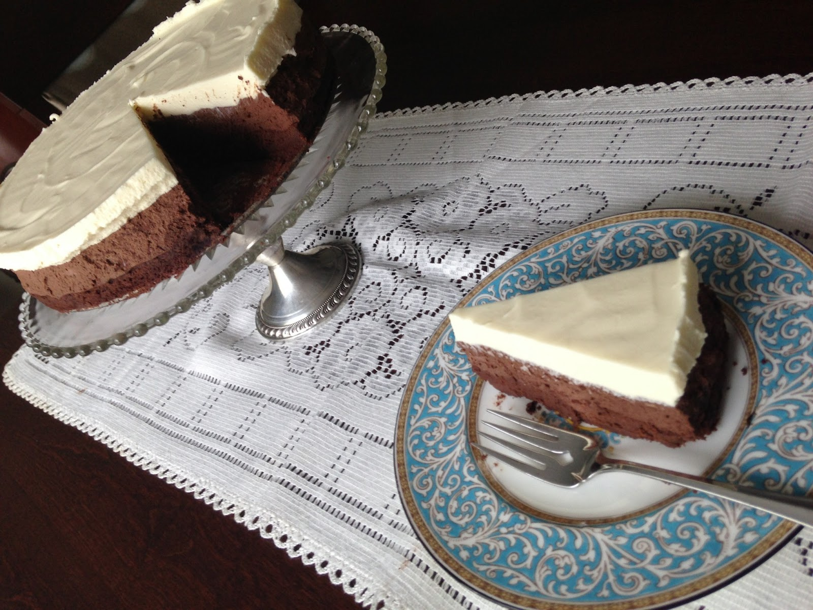 Mary-Making: Triple Chocolate Mousse Torte and the Best Party Dessert