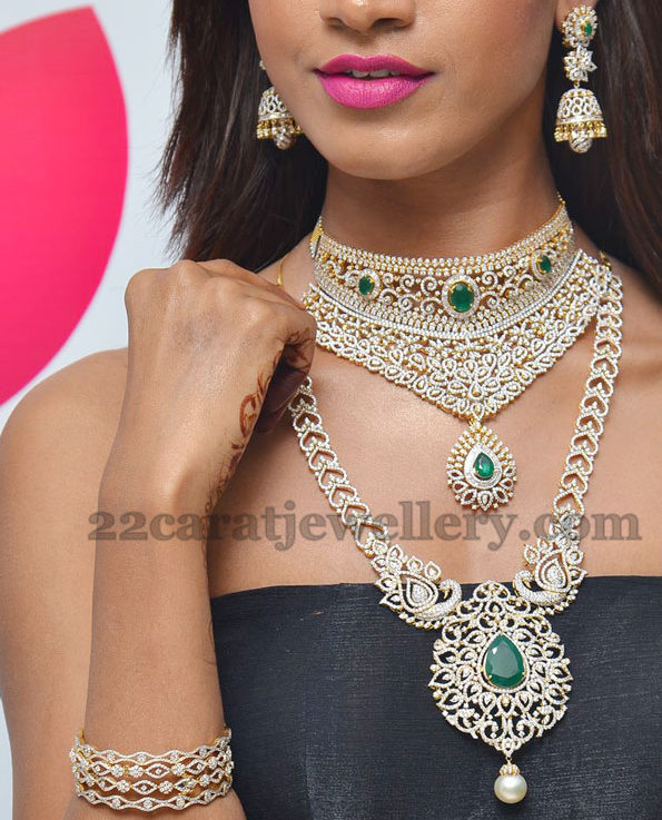 Sania Showcasing Manepally Jewellery