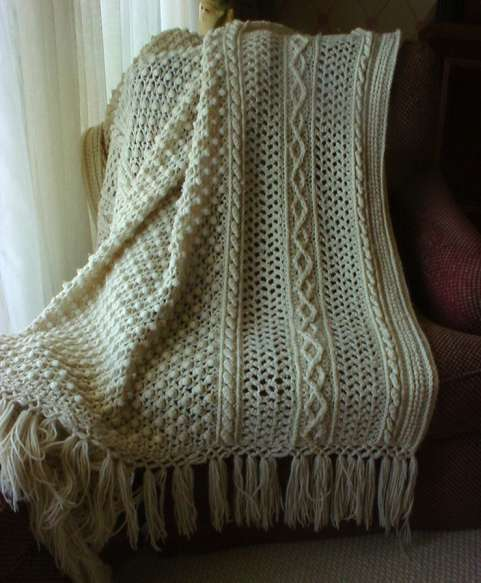 Crochet Patterns Throws : Afghan Patterns to Crochet= free crochet afghan patterns